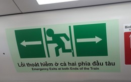 Những ký hiệu cần biết trong tàu đường sắt trên cao