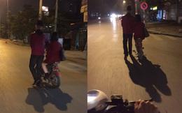 """Hình ảnh """"không thể không yêu"""" trong đêm Giáng sinh ở Hà Nội"""