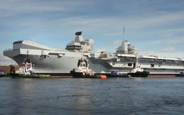 Vì sao siêu tàu sân bay HMS Queen Elizabeth trì trệ?