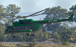 Trực thăng quân sự của Lào vừa rơi là loại gì?