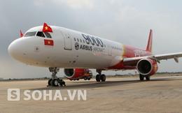 Cận cảnh máy bay A321 thứ 9.000 của Airbus bàn giao cho VietJet