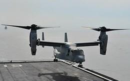 """[VIDEO] """"Quái vật"""" MV-22 Osprey hạ cánh trên chiến hạm Hàn Quốc"""