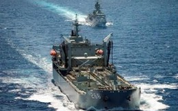 Tàu hải quân Úc dài 191m đến Đà Nẵng