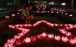 500 chiếc đèn hoa đăng thắp sáng tư gia Đại tướng Võ Nguyên Giáp