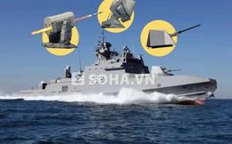 [INFOGRAPHIC] Tàu tên lửa Mỹ đóng cho Ai Cập có mạnh hơn Molniya?