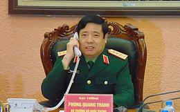 Bộ trưởng Phùng Quang Thanh điện đàm với Bộ trưởng QP Trung Quốc