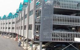 """Bãi đỗ xe giàn thép """"khủng"""" giá 30 tỷ đồng tại Hà Nội"""