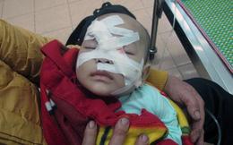 Vụ chém tử vong chị vợ: Xót xa hình ảnh bé gái bị trọng thương