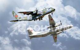 """[INFOGRAPHIC] """"So tài"""" hai máy bay vận tải tốt nhất của KQVN"""