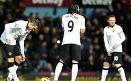 Góc kỹ thuật: Van Persie & Falcao là một sự kết hợp sai lầm ở Man United