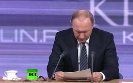 """Ông Putin đáp trả ra sao khi bị nhà báo Ukraine """"hỏi xoáy""""?"""