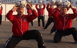 """Trung Quốc tham vọng """"bá chủ bóng đá thế giới"""" với đội bóng thiếu lâm"""