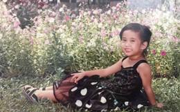 Những bức ảnh thuở ấu thơ ít người biết của hot girl Ngọc Thảo