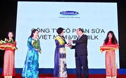 Vinamilk được xướng tên trong Thương hiệu vàng thực phẩm VN