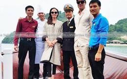 Angelina Jolie, Brad Pitt tươi cười ở Hạ Long