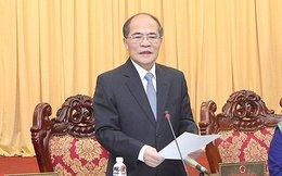 """Chủ tịch Quốc hội Nguyễn Sinh Hùng: """"Không thể cấm người ta mở mồm"""""""