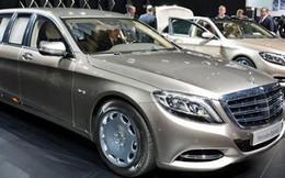'Lóa mắt' trước nội thất chiếc xe siêu sang Mercedes-Maybach Pullman