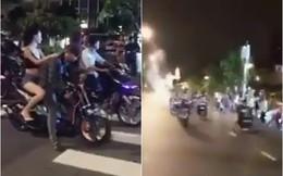 Lý giải việc hàng chục thanh niên đua xe náo loạn đường Nguyễn Huệ