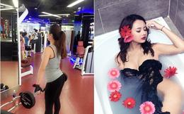 Vẻ đẹp cuốn hút không ngờ của nữ HLV kick boxing