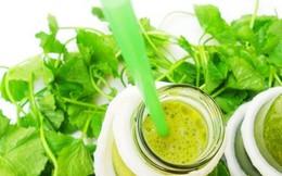 Những công dụng không ngờ cho sức khỏe từ rau má