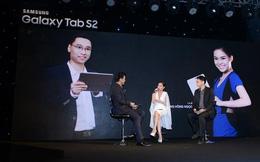 Samsung chính thức giới thiệu máy tính bảng mỏng nhất, nhẹ nhất Samsung Galaxy Tab S2