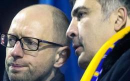 Ukraine: Ông Saakashvili quyết hất Thủ tướng Yatsenyuk