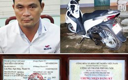 Trộm SH ở Hà Nội mang về Bình Phước 'ung dung' sử dụng