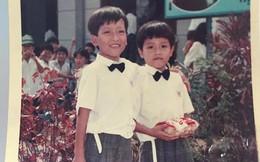 Tấm hình tuổi thơ duy nhất còn giữ lại của Trường Giang