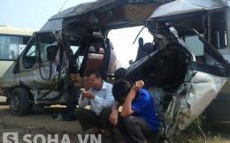 2 xe khách đâm nhau kinh hoàng, 5 người tử vong tại Hà Nội