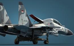 Xem sức mạnh của tiêm kích Su-30MK2 tập trận bắn đạn thật