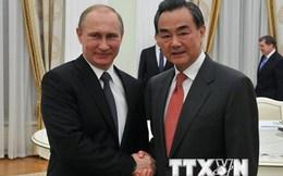 Quan hệ Nga và Trung Quốc đang ở mức cao chưa từng thấy