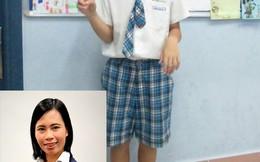 Nhà văn Trang Hạ: Đuổi HS vì mẹ chê cà vạt là tàn nhẫn