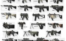 INFOGRAPHIC: Các loại súng trường tấn công hiện đại