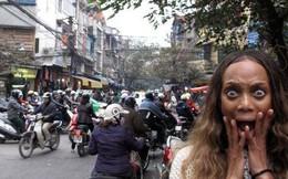 """""""Hãy dùng 2 từ để miêu tả về tình trạng giao thông ở Việt Nam"""""""