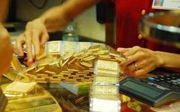 Giao dịch vàng miếng sụt giảm mạnh
