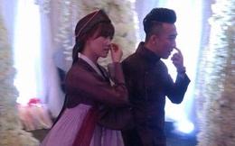 Không thể nhịn cười khi xem ảnh này ở đám cưới Trấn Thành - Hari Won