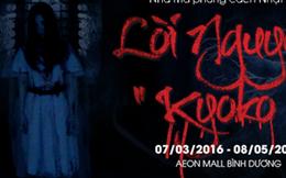 """""""Lời nguyền Kyoko"""" đã có mặt tại Aeon Mall Bình Dương Canary"""