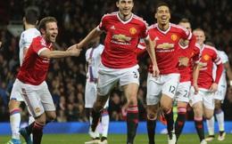 """Làm gỏi"" Crystal Palace, Man United sẽ ẵm trọn FA Cup"