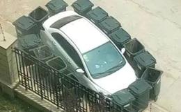 """Đừng tưởng xe sang mà nghênh ngang bạ đâu đỗ đấy, hãy xem những """"bài học"""" này mà chừa"""