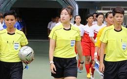 Vẻ đẹp không tì vết của nữ trọng tài bắt trận Việt Nam - Thái Lan