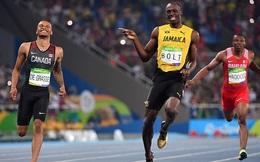 """Cộng đồng mạng phát sốt với cảnh """"tình tứ"""" giữa Usain Bolt và Andre De Grasse"""