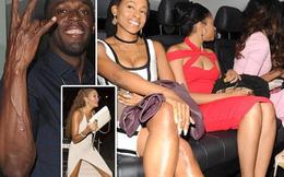 """Usain Bolt tiếp tục rủ 5 """"gái lạ"""" thác loạn thâu đêm"""
