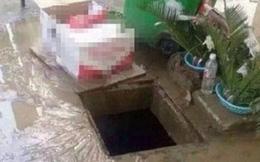 Hàng xóm mở nắp cống để thoát nước trong mưa, bé gái 11 tuổi bị cuốn trôi, mất tích