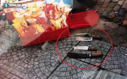 Nhóm đối tượng truy sát, chém người bán hàng rong ở Sài Gòn