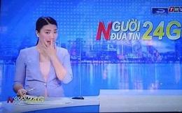 """Nữ MC xinh đẹp lên tiếng về hành động """"ngoáy mũi"""" trên sóng truyền hình"""