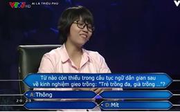 """Cô gái gây sốt """"Ai là triệu phú"""" rốt cuộc thắng bao nhiêu tiền?"""
