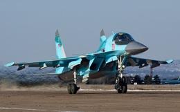 Su-34 bong sơn, không chịu nhả bom khi tấn công khủng bố