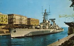 Tuần dương hạm mang tên lửa hạt nhân có một không hai của Italia