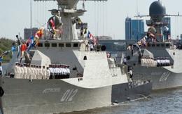 Hạm đội Caspian thử hệ thống radar vượt đường chân trời Podsolnukh