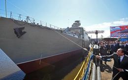 [ẢNH+ VIDEO] Toàn cảnh lễ hạ thủy tàu Gepard thứ 3 của Việt Nam